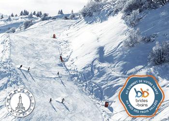 ski à brides les bains