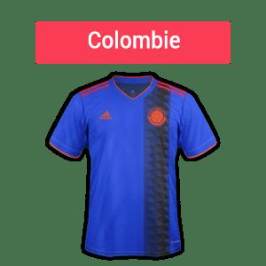 les cotes donnent la Colombie gagnante dans le groupe H