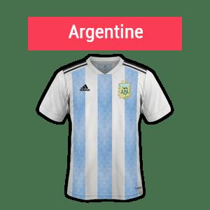 Argentine favorite groupe D coupe du monde