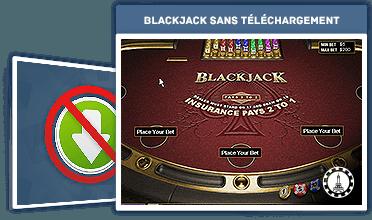blackjack sans téléchargement
