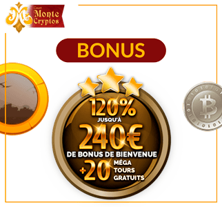 bonus Monte Cryptos casino