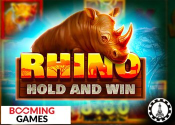 Booming Games lance le jeu Rhino : Hold And Win