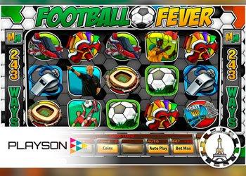 football fever machine