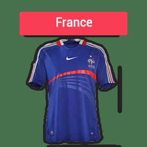 France meilleures cotes pour CDM 2018 groupe C