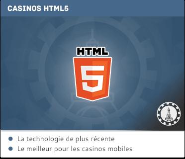 Casinos HTML5 Sans Téléchargement