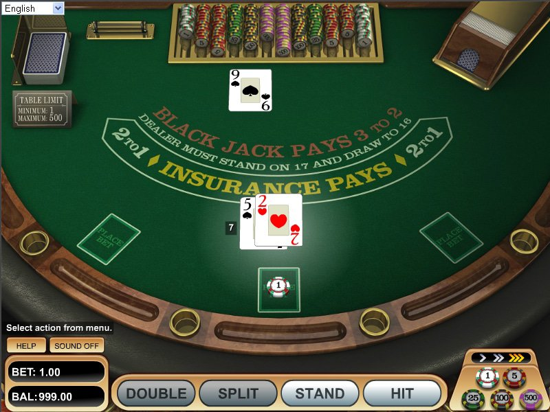 jeu American Blackjack