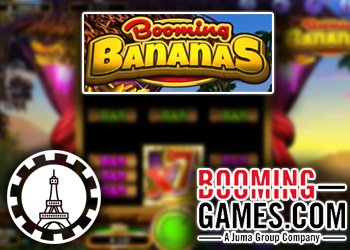 Nouveau Jeu Booming Bananas aux Casinos Booming Games