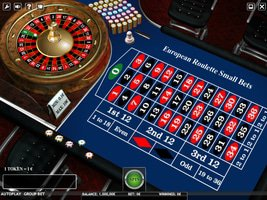 European Roulette - Small Bets