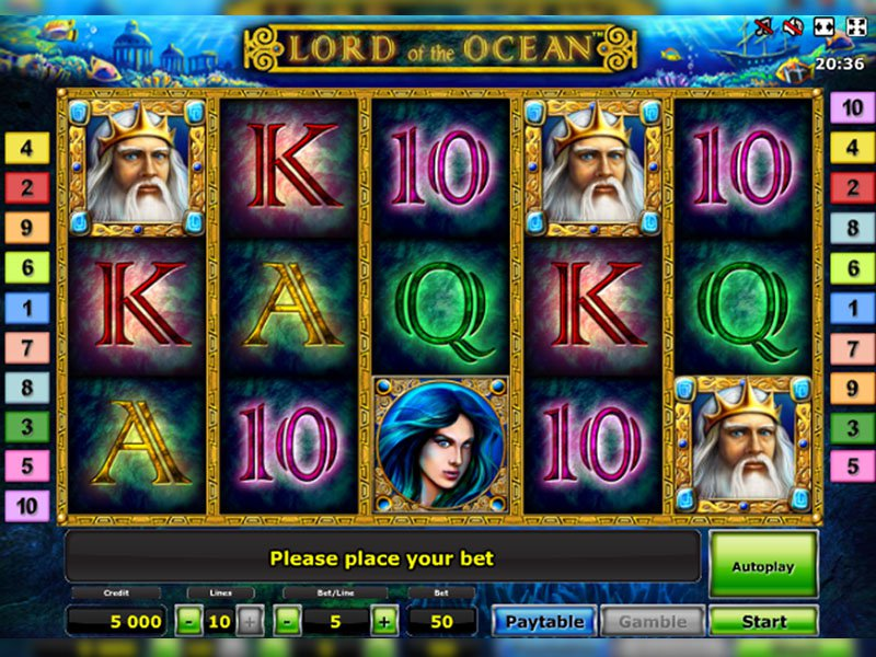 jeu Lord of the Ocean