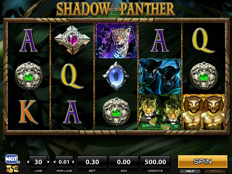 jeu Shadow of The Panther