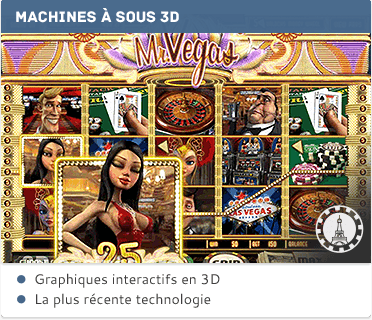 Machines à sous 3D