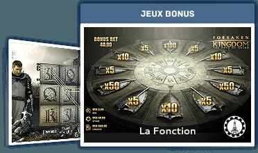 La Fonction : Jeux Bonus