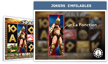 Fonction: Jokers empilables