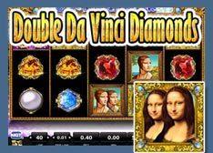 Cotes Machine à sous Da Vinci's Diamonds