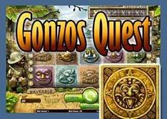 Machine à sous Sans Téléchargement Gonzo's Quest