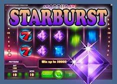 Machine à sous Mac Starburst