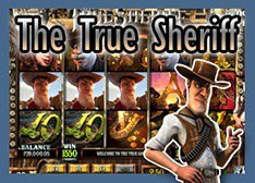 The True Sheriff iPhone Slot