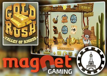 Machine à sous Gold Rush Valley of Riches de Magnet Gaming