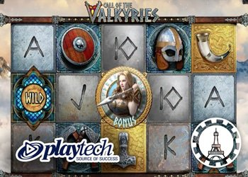Playtech annonce sa nouvelle machine à sous Call Of The Valkyries