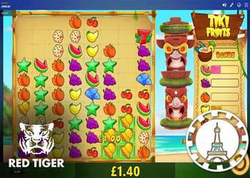 Red Tiger Gaming annonce sa nouvelle machine à sous Tiki Fruits