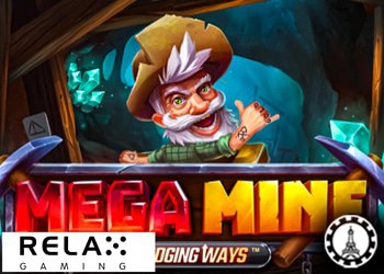 Relax Gaming dévoile Mega Mine Nudging Ways