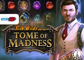 Rich Wilde and the Tome of Madness : Nouveau jeu de Play'n Go